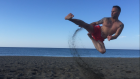 Air Time On a Turkish beach training every morning as the sun came up 22-5-16